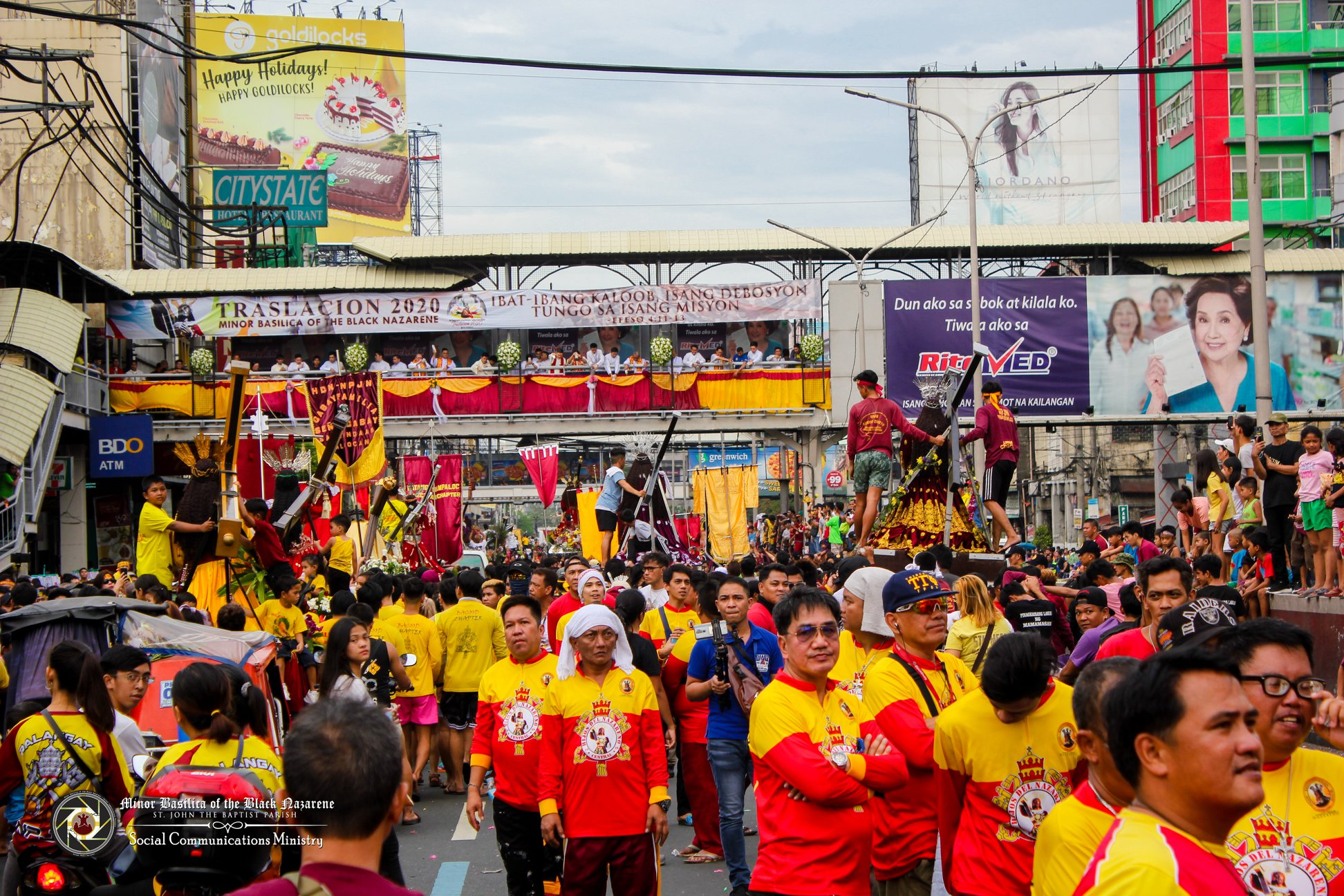 The Feast of the Traslacion Photo by Quiapo Church - Minor Basilica of the Black Nazarene